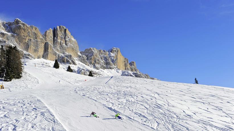 Gipfelriesen im Spalier: Carezza