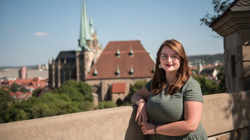 Jessika Fichtel: Erfurt ist ein Großstadtdorf