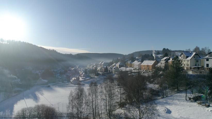 Skischanze: Auf einen Sprung nach Thüringen