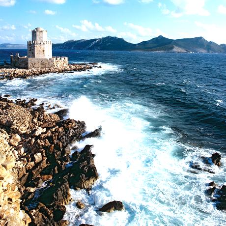 Peloponnes: Geschichte und viel Meer