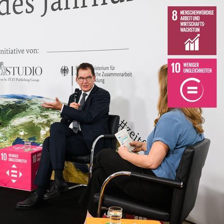 Folge 9 - SDG 8 Menschenwürdige Arbeit | SDG 10 Weniger Ungleichheiten: Globalisierung ist, wenn niemand zurückgelassen wird