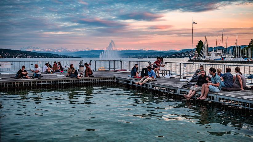 Sommer in Zürich