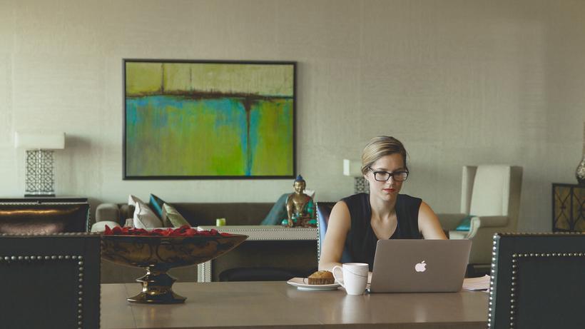 Ein Homeoffice Tag In Jeder Zweiten Arbeitswoche Würde Die Lage Für Viele  Pendler Schon Vereinfachen. © Pixabay