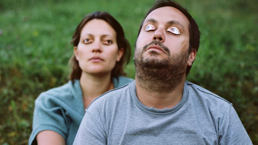 Stress: Gestresste Menschen mutieren zum Wolf oder zur Schildkröte