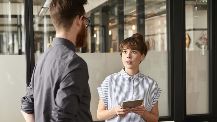 Sexuelle Belästigung am Arbeitsplatz: 33 Prozent der deutschen Frauen haben schon sexuelle Belästigung am Arbeitsplatz erlebt.