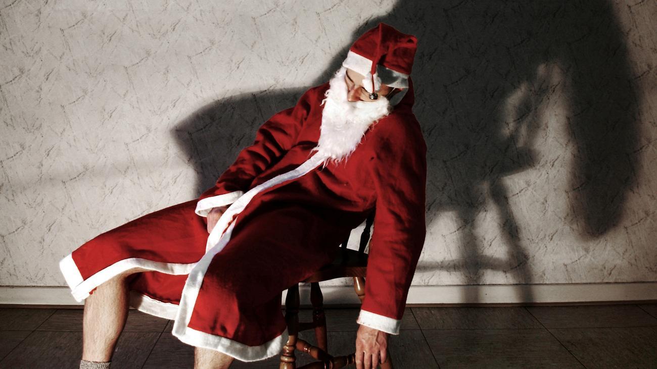 weihnachten darf ich mal an deinem bart ziehen zeit arbeit. Black Bedroom Furniture Sets. Home Design Ideas