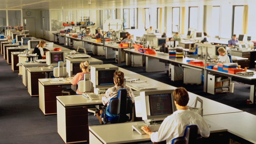Großraumbüro: Und nebenan klackert die Tastatur