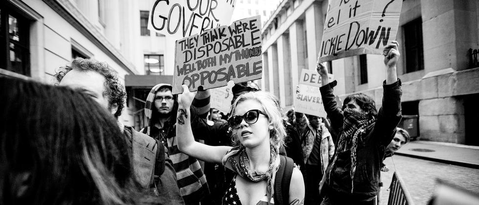"Occupy Wall Street: ""Der gemeinsame Nenner war Antikapitalismus"""