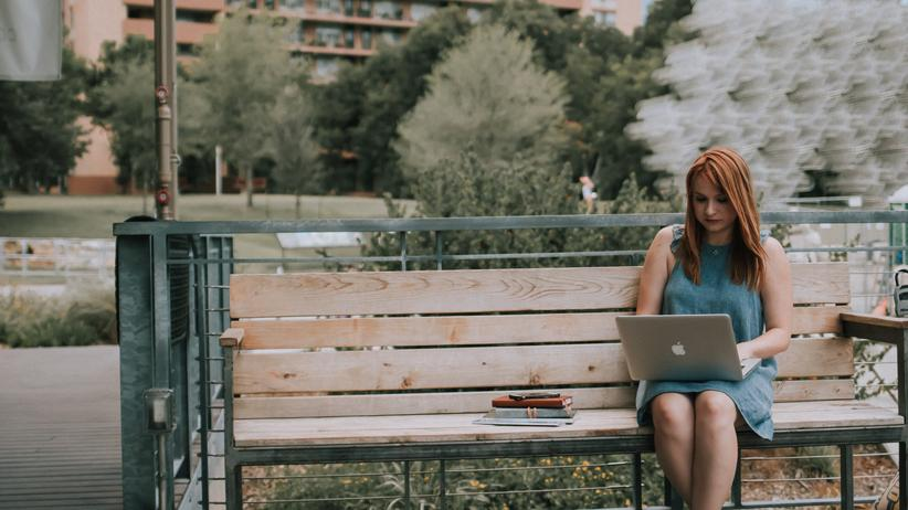 Flexibles Arbeiten: Hauptsache die Internetverbindung ist stabil.