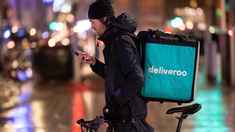 """Arbeitsbedingungen: """"Das, was Deliveroo macht, ist rechtswidrig"""""""