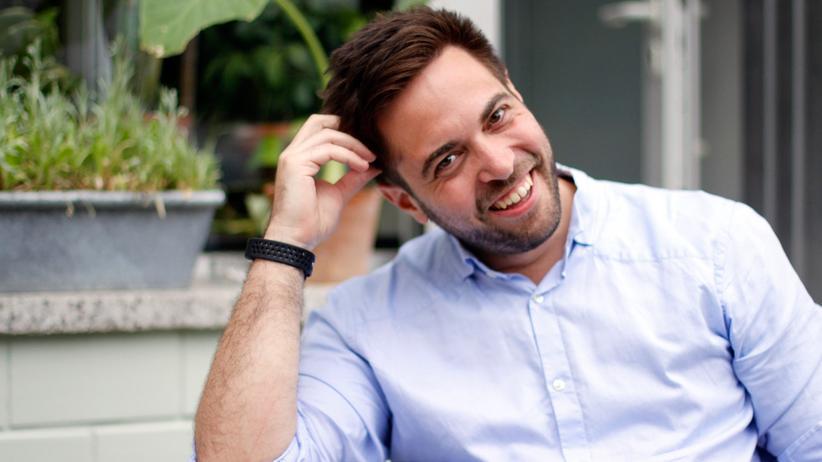 Softwareentwickler: Noch ein halbes Jahr kann Frederik von seinem Ersparten leben, dann muss seine Firma Geld abwerfen.