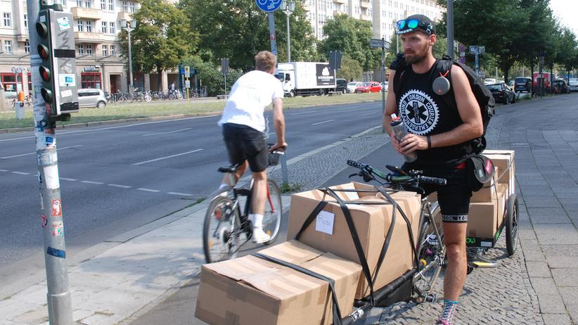 Fahrradkuriere: Im Kollektiv gegen die Gig-Economy
