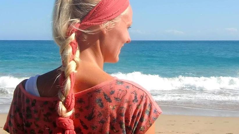 Digitale Nomaden: Birte Schmidt reiste von Traumstrand zu Traumstrand, wie hier in der Dominikanischen Republik. Irgendwann reichte ihr dieses Leben nicht mehr.
