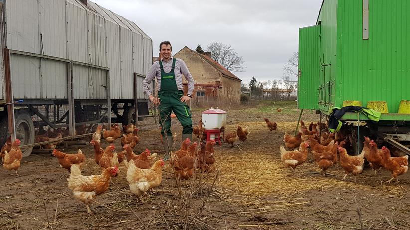 Bauernproteste: An diesem Samstag wird Johannes Erz für die Agrarwende demonstrieren - und damit für sein Geschäftsmodell.