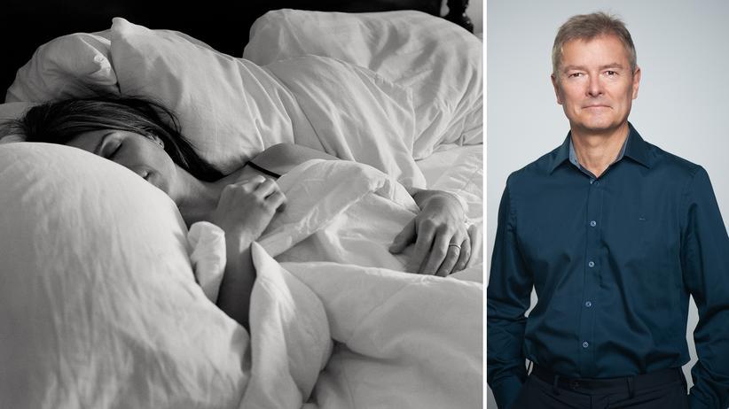 Schlafstörungen: Man hat alle zwei Stunden ein Zeitfenster von 30 Minuten zum Einschlafen, weiß Ingo Fietze.