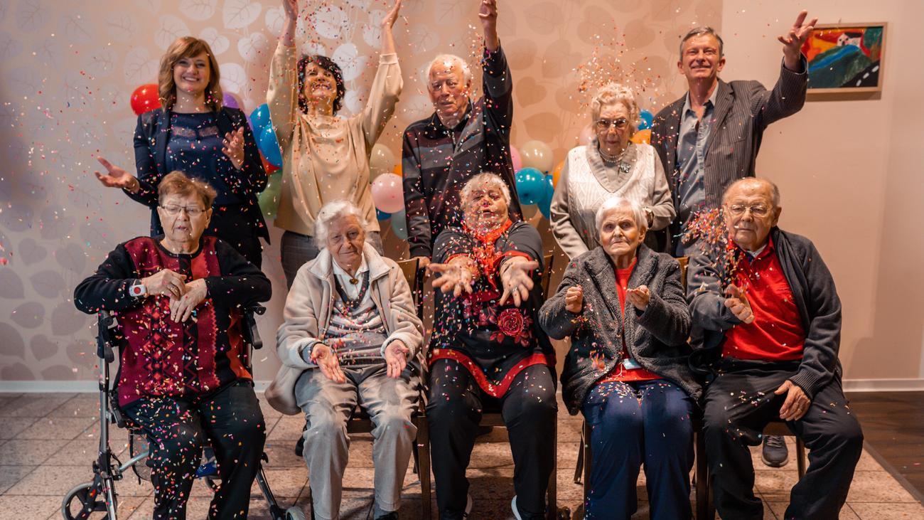 Altersheim durchschnittlich menschen lange im wie leben warum bleiben