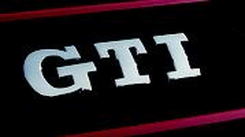 Der GTI-Schriftzug