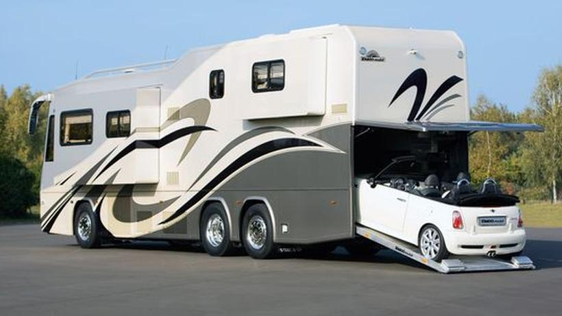 luxus-wohnmobile: prunkhäuser auf rädern | zeit online - Luxus