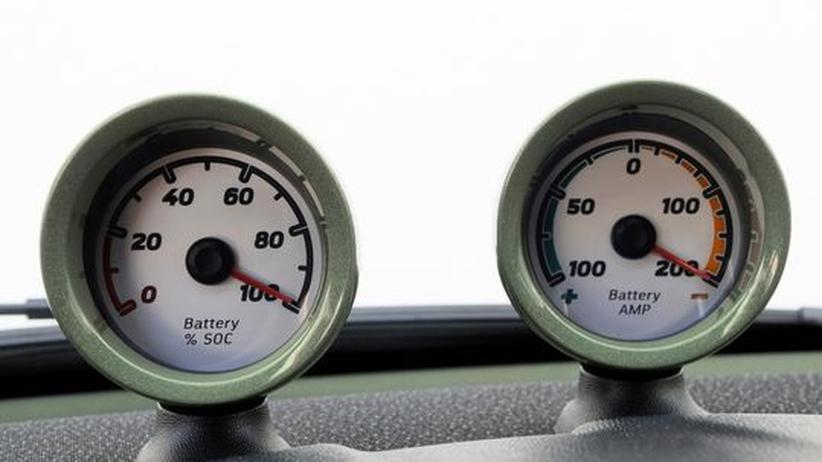 Instrumente für den Ladungszustand der Smart-Batterie