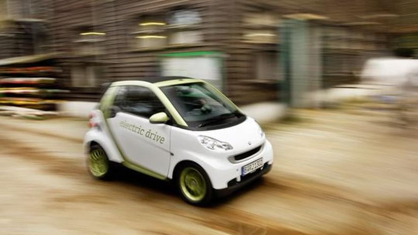 Der Smart Fortwo Electric Drive