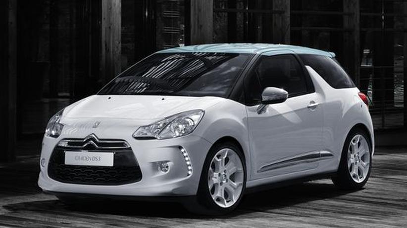 Der Citroën DS3 ist ein dreitüriger Kleinwagen mit Schrägheck