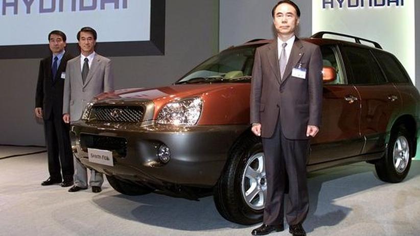 Ein klassischer SUV: der Hyundai Santa Fe wurde schon 2000 vorgestellt