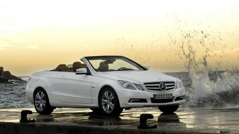 Viel Eleganz und Technik: das Mercedes-E250-CGI-Cabrio