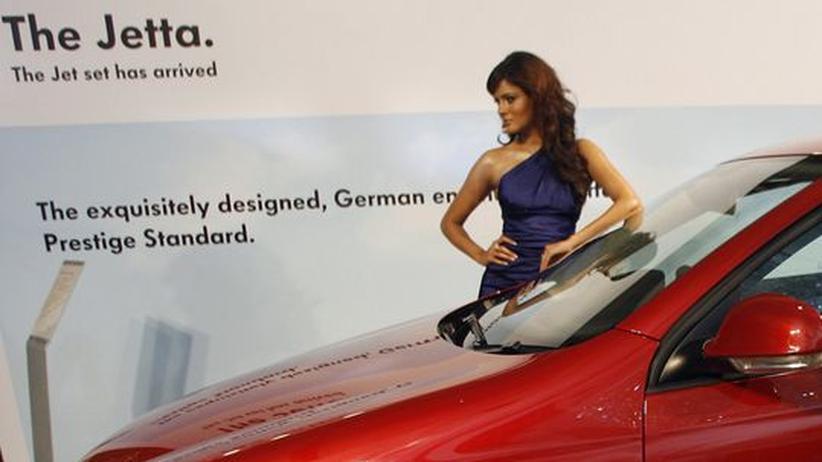 Im Juli 2008 ging Volkswagen in Indien mit dem Jetta an den Start