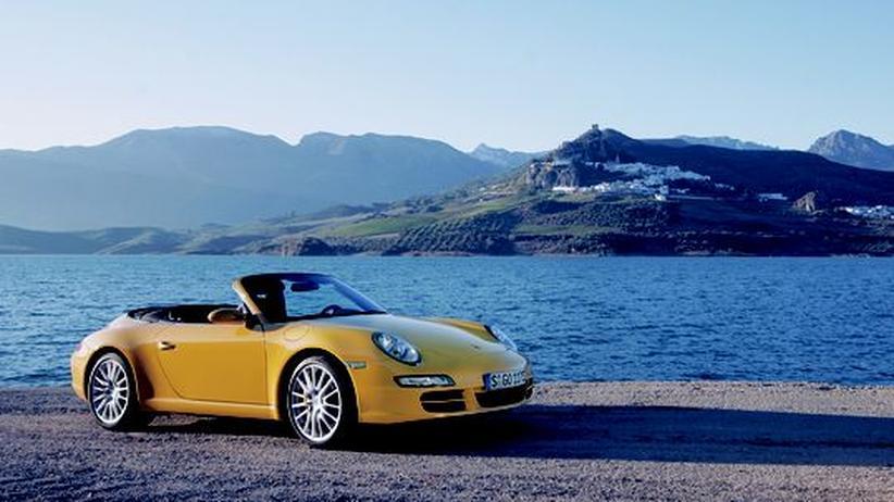 Der Porsche 911 Carrera Cabrio