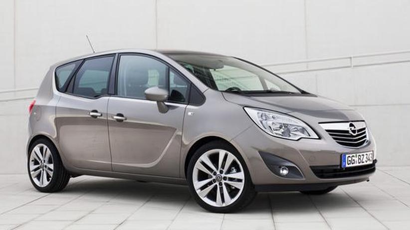Der neue Opel Meriva zählt zur Klasse der Kompaktvans