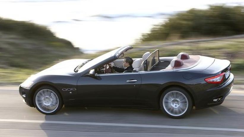 Der Maserati Gran Cabrio ist ein Ableger des GranTurismo