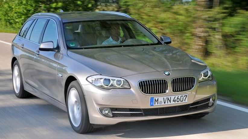 """""""Touring"""" nennt BMW die Kombivariante seiner Modelle – die der neuen 5er-Reihe kam im September in den Handel"""