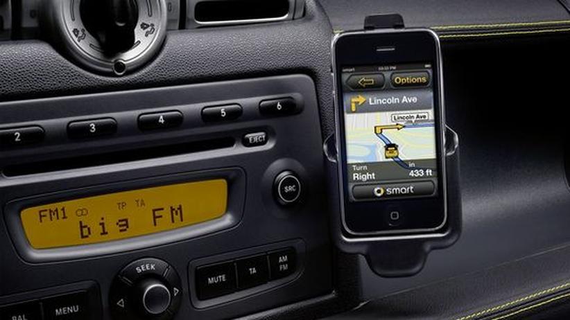 Autotechnik: Apps am Armaturenbrett
