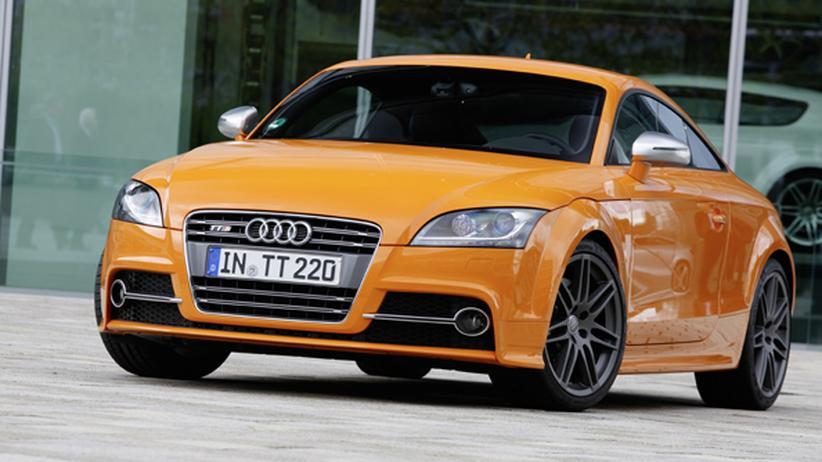 Audi TTS Coupé: Man fährt nicht einfach Auto
