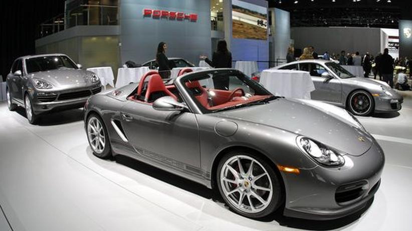 Porsche auf der Detroit Auto Show 2011