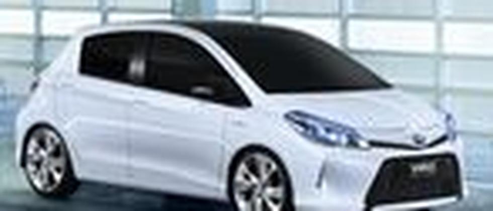 Toyota präsentiert auf dem Genfer Autosalon den Yaris Hybrid
