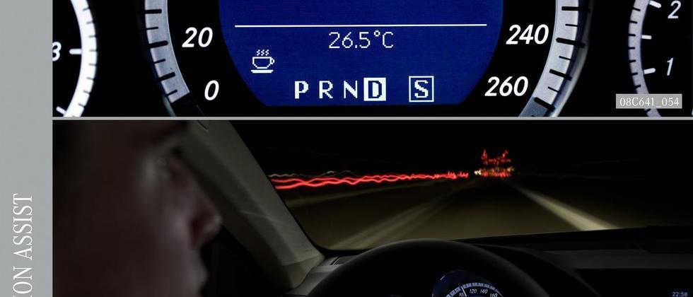 Kameras registrieren eine etwaige Müdigkeit des Fahrers – das System rät dann dazu, eine Pause einzulegen