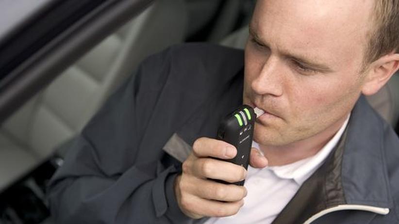Alkohol-Wegfahrsperre: Pusten, damit der Motor läuft