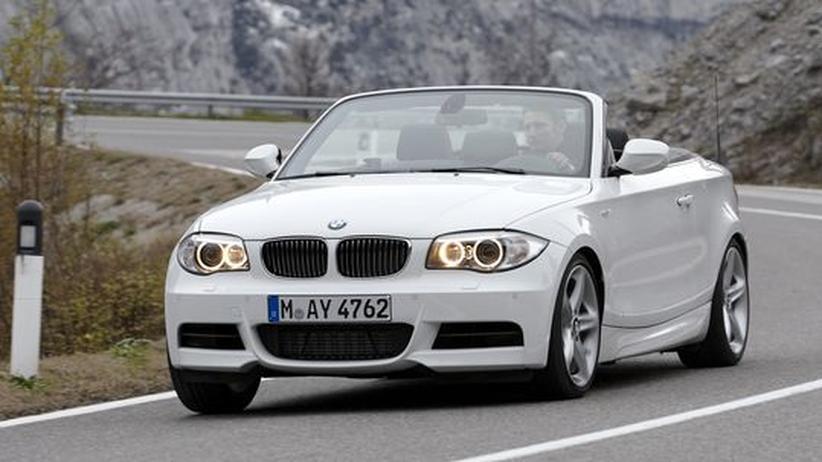 Der 1er von BMW als Cabrio
