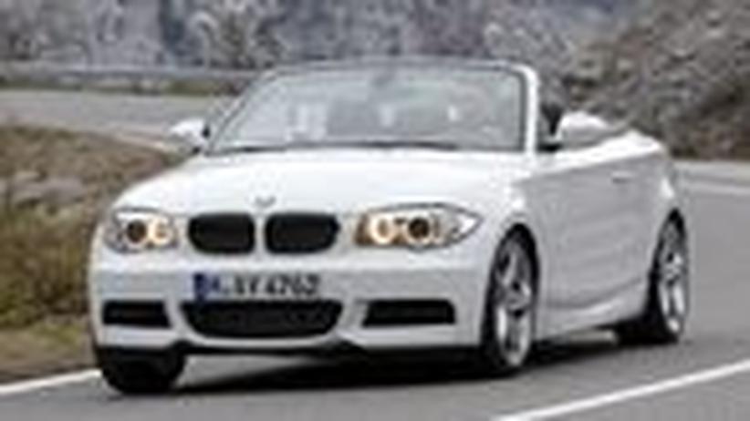 BMW 118d Cabrio: Gute Unterhaltung unterm Stoffdach