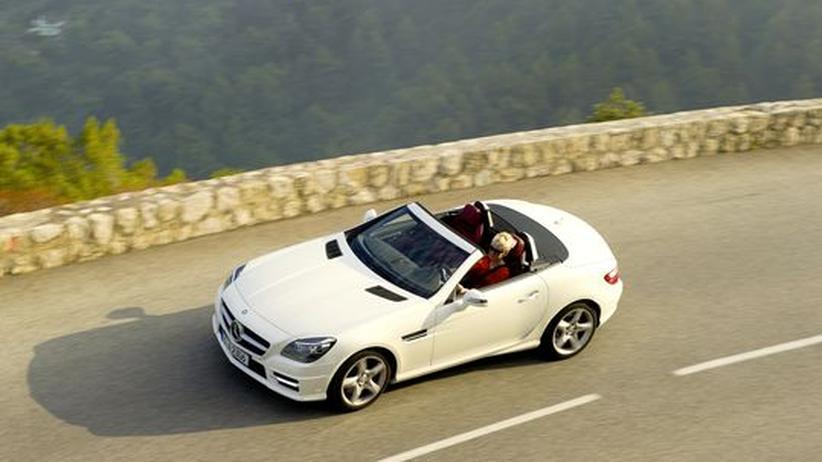 Mercedes-Benz SLK 250 Blue Efficiency: Fahren und föhnen