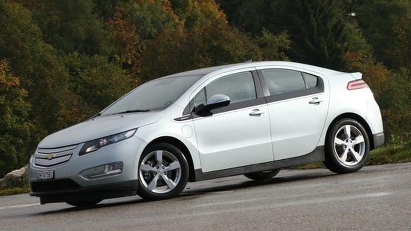 Chevrolet Volt: Der Ampera-Zwilling macht sich rar