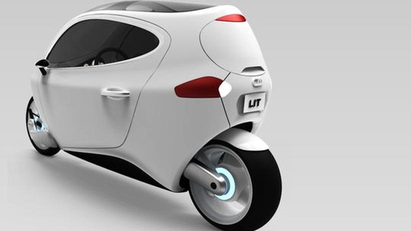 Elektromobilität: Elektro-Scooter mit Wetterschutz