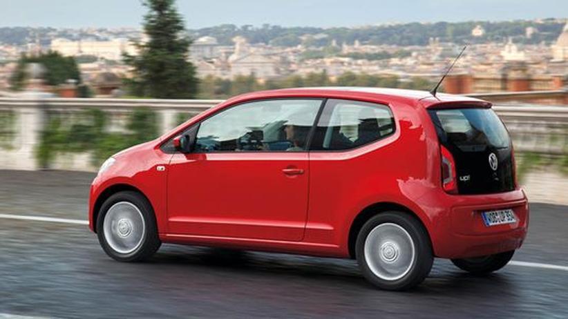 VW up! im Praxistest: Kleiner Wagen, großer Durst