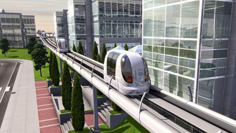 Verkehr der Zukunft: Unterwegs im Robo-Taxi