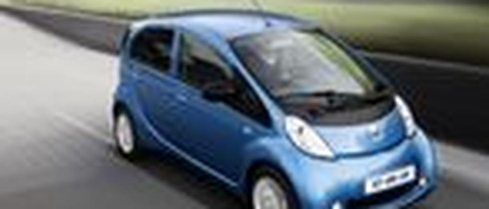 Das Elektroauto iOn von Peugeot