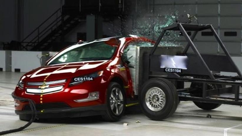 Brennendes Elektroauto: GM kämpft gegen Imageschaden an