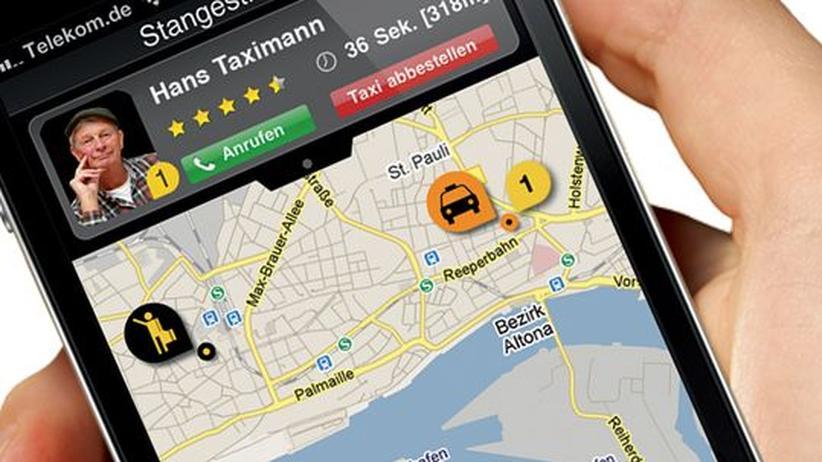Smartphone-App: MyTaxi krempelt die Taxibranche um
