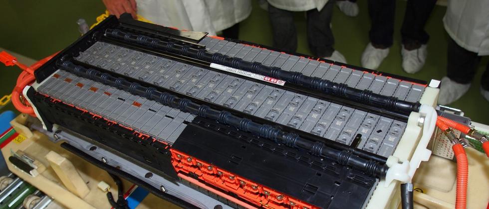 Produktion von NiMH-Batterien bei Toyota