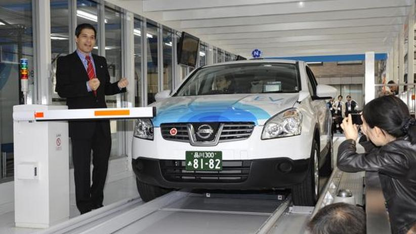 Elektromobilität: Akku-Austauscher wirbt beim Bund um Förderung